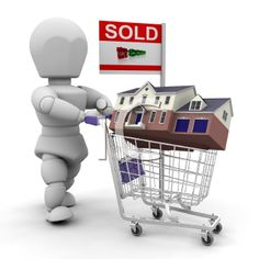 Sold - house in shopping cart
