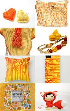 Sizzling Hot Handmade Creations! by On Fire for Handmade on Etsy--Pinned with TreasuryPin.com
