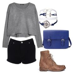 """Untitled #179"" by bleeding-neverland on Polyvore featuring MANGO, Warehouse, Freebird and Forever 21"