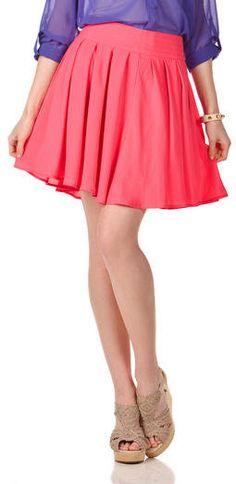 #Francesca`s              #Skirt                    #Kissimmee #Pleated #Chiffon #Skirt #Francescas     Kissimmee Pleated Chiffon Skirt - Francescas                                  http://www.seapai.com/product.aspx?PID=1886993