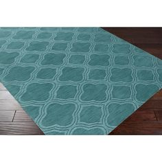 Poster bedroom? Hand Loomed Rome Casual Solid Tone-On-Tone Moroccan Trellis Wool Area Rug (8' x 11') | Overstock.com Shopping - Great Deals on 7x9 - 10x14 R...
