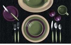Check out my Colorama by Fiesta customized table setting! Click to create your own.