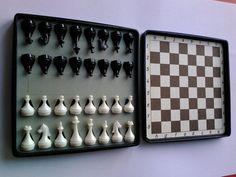 Mid century russian chess set.