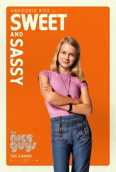 The Nice Guys - Angourie Rice as Holly March Character Poster