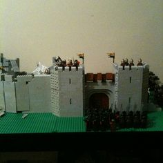10/30/12 Front gate. The start of Helms Deep.
