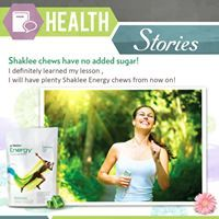 """HEALTH STORIES:""""Hi ladies, just wanted to share my new found appreciation for the energy chews. I had a long run to do today, and was completely out of chews. I decided to just get some energy blocks from the drug store to use since I was out.I figured it won't be a big deal. Well it was a huge mistake! Shaklee chews give me more consistent energy and the drug store energy blocks made me feellike I was on a sugar high and would quickly crash. The worst…"""