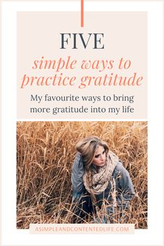 Want to bring more gratitude to your day but not sure how to get started with practicing gratitude? I've got you covered! In this post, I'm sharing five simple things you can do to make embracing gratitude part of your daily routine. Applied Psychology, Habits Of Successful People, Practice Gratitude, Gratitude Quotes, Good Habits, Be Kind To Yourself, Simple Things, Positive Mindset, Best Self