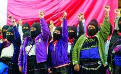 """EZLN convoca al """"Primer encuentro interacional  de mujeres que luchan"""""""