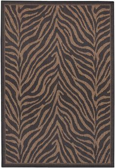 Couristan Recife Zebra Area Rug