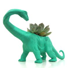Eleanor the Apatosaurus, also a planter.