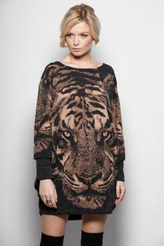 Knit Tiger Dress
