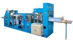 Paper Napkin Making Machine We manufacture and supply a quality range of paper napkin machines. These machines are built for high level of production. They go easy in operation and need less maintenance. They have strong structure for stability and vibration less operation. Our machine runs smoothly.