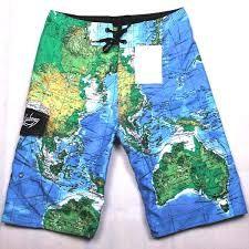 Men's Map swimsuit