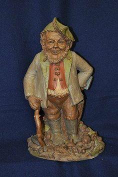 TOM CLARK GNOME ELF HYKE 1984 WOODSPIRITS Elf Face, Tom Clark, Fairytale Fantasies, Whittling, Fairy Gardens, Faeries, Elves, Troll, Fairy Tales