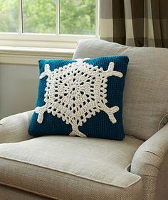 Snowflake Pillow ;)