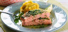 Salmão c/ Manteiga de Coentros e Puré de Batata-Doce – BimbyWorld Lidl, Steak, Pork, Cooking, Recipes, Cilantro, Butter, Salads, Sweet Potato Mash
