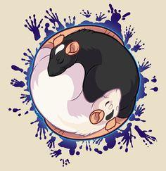 Yin Yang Rats