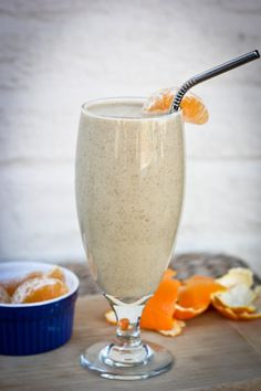 Clementine Smoothie:  1 cup Silk PureAlmond Unsweetened Vanilla  ½ frozen banana, peeled and sliced before freezing  3 clementines, peeled  1 Tablespoon chia seeds  1 scoop vanilla brown rice protein powder (optional)  Instructions