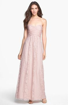 Nordstrom Amsale Pleated Lace Sweetheart Gown Item #951576 | http://shop.nordstrom.com/s/amsale-pleated-lace-sweetheart-gown/3580031?origin=related-3580031-0-1-PP_4-Rich_Relevance_Recs_R3-CategoryDiversePurchaseCP