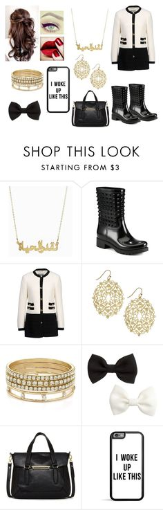"""""""Cus' I Can"""" by famouskike1616 ❤ liked on Polyvore featuring Disney, Valentino, Moschino, BCBGeneration, H&M and Danielle Nicole"""