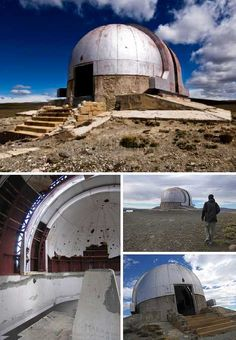 How lonely must the astronomers sentenced, er, sent to work at the now-abandoned Austral Felix Aguilar Observatory in Santa Cruz have felt, surrounded by mucho nada bar the endlessly howling Patagonian winds? Perhaps that's why it was abandoned: staffing the outpost was one problem, supplying it was another. Observatories are ideally sited in remote areas free from light pollution and traffic vibrations but can you get too much of a good thing?