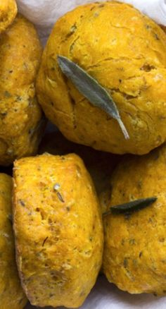 Pumpkin Sage Biscuits - Pinned by The Mystic's Emporium on Etsy