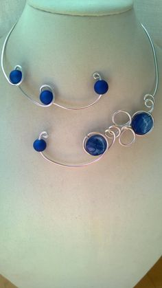 Bridemaid jewelry set Wedding jewelry Alu by LesBijouxLibellule