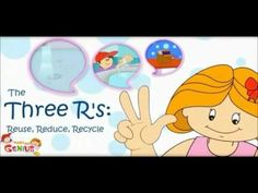 3 R' s - Reduce ,Reuse , Re-cycle - Pollution - Lesson - Education videos by www.makemegenius.com - YouTube