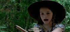 The perfect Judith JudithGrimes Language Animated GIF for your conversation. Discover and Share the best GIFs on Tenor. Judith Twd, Judith Grimes, Carl Grimes, Walking Dead Girl, Walking Dead Funny, Fear The Walking Dead, Fanfiction, Night Terror, Wattpad