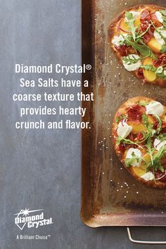 Use Diamond Crystal® Sea Salts to help enhance the flavor of your favorite meals.  #Cooking