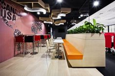 Kyoob-id has completed an interior design and build project for the Singaporean offices of TripAdvisor, the world's largest travel site.