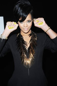 The Best Looks of 2008: Rihanna's Risk-Taking Hairstyles