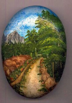 Stone Painting Painting by Asif Kasi - Stone Painting Fine Art Prints and Posters for Sale