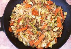 Kínai csirke rizstésztával Gabystól