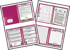 I thought it might be nice if parents had a little background knowledge to help them, help their child. Why not tell them what fluency is or how it sounds? Why not give them directions on how to help with those things? Well here you go...Fluency Folders!