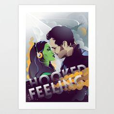 Guardians of the Galaxy Art Print by Fedi - $17.68