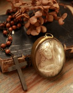 Beautiful religious locket
