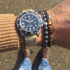 """SD4000 X @laboomdesign bracelets X @whatchsdotcom perlon strap """