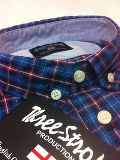We believe that a shirt is an important piece of clothing. It has to deliver a sense of elegance but at the same time, qualitywise it cannot be a compromise. We always use 100% cotton for our traditional check designs such as gingham, window pane, and tartan. Along with striped, plain (oxford cotton) in our designs.  #threestroke #three stroke #three stroke productions #casuals #casualclothing #casualclobber #casualculture #casualshirt
