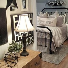 Admirable Farmhouse Master Bedroom decorating Ideas - Page 47 of 47