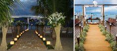 A Beach Flowers oferece decoração exclusiva para casamento na praia