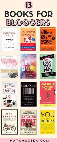 Looking for new books to read? Here is a roundup of some of the best books for bloggers, best books for women, best books to read in 2018. #books