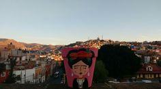 Maceta de Frida Kahlo pintada a mano #artemexicano