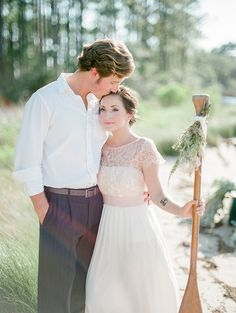 Emerald Coast Wedding Inspiration |  Lace Blush BHLDN Gown | As Seen on Bajan Wed | The Jacksons Photography