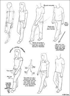 Walking Tutorial 01 by ~DerSketchie on deviantART