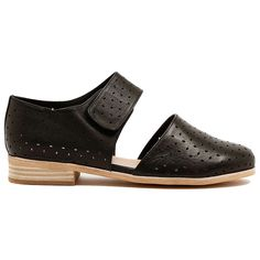 Lazer Cut, Easy Wear, Velcro Straps, Heeled Mules, Fashion Shoes, Black Leather, Footwear, Number, Flats