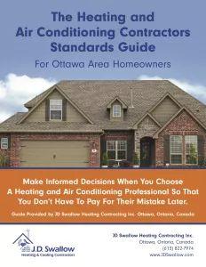 JD Swallow Heating & Air Conditioning Repair Service & Sales | Ottawa