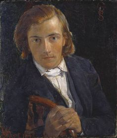 William Holman Hunt, F.G. Stephens, 1847 From the Tate Gallery
