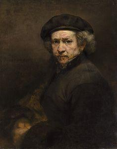 Автопортрет. Харменс ван Рейн Рембрандт