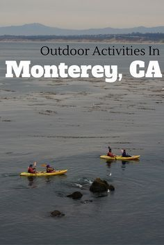 From hiking to whale watching. See the best of the Monterey Bay with these top outdoor activities in Monterey, California. Monterey California, Monterey Bay, California Travel, Central California, Beautiful Places To Visit, Cool Places To Visit, Places To Travel, Travel Destinations, Travel Usa